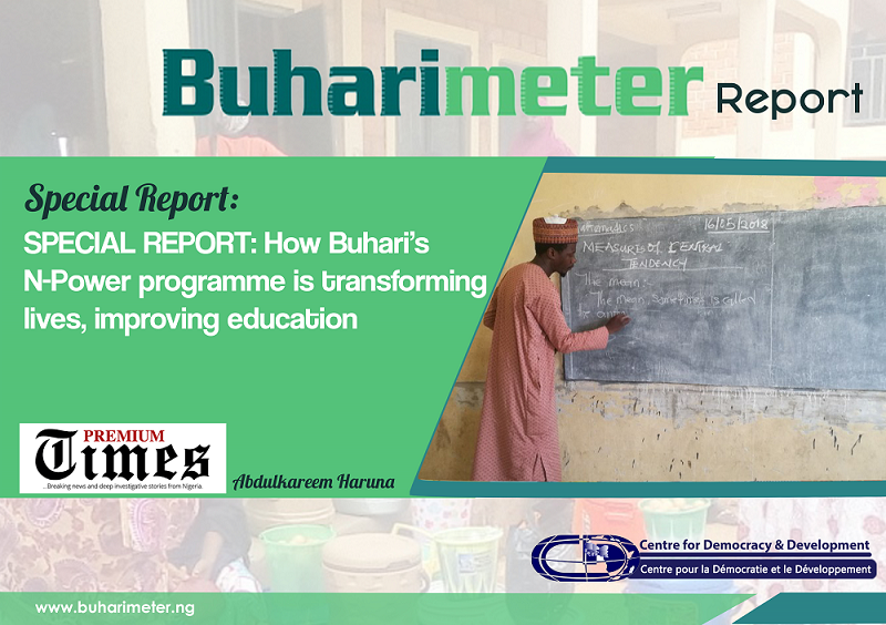 SPECIAL REPORT: How Buhari's N-Power Programme is