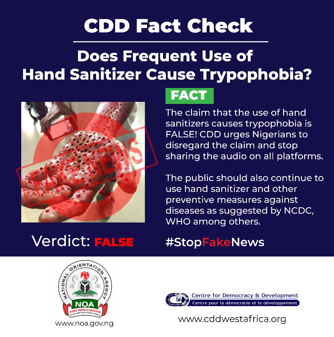 Does Frequent Use Of Hand Sanitizer Cause Trypophobia Cdd