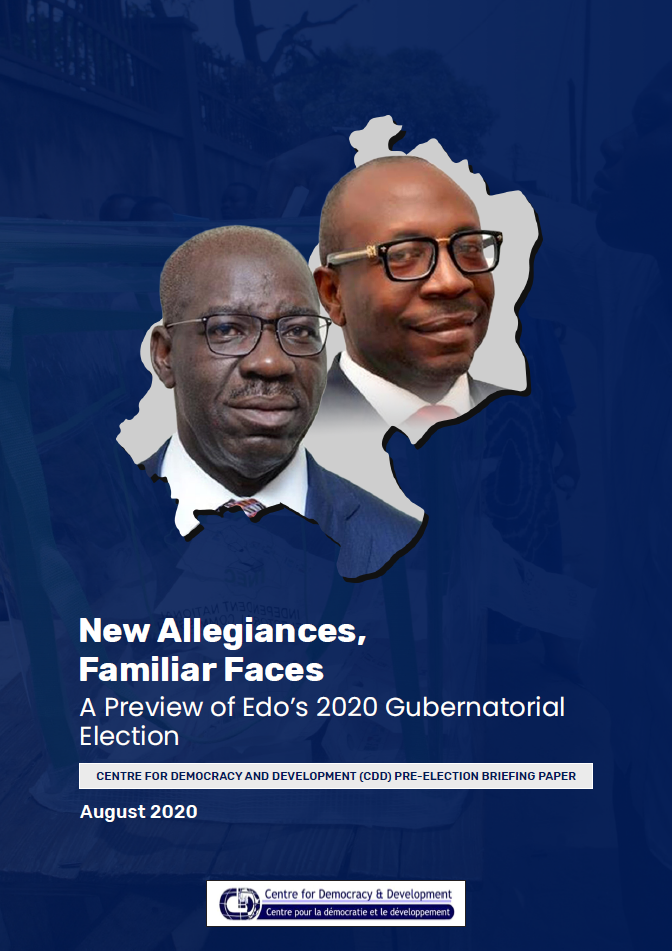New Allegiances, Familiar Faces A Preview of Edo's 2020 Gubernatorial Election